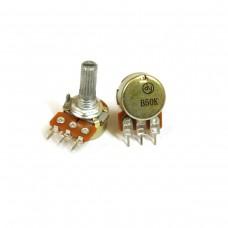 Потенциометр R16K1, B50K Печатный монтаж. SALE