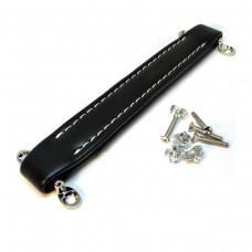 Ручка для гитарного кабинета (Черный, белая прострочка)