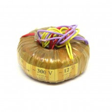 Toroidal Power Transformer 25VA (300v+12v)