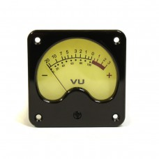 VU meter (Vintage, 57mm) with backlight