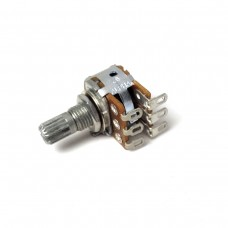 Alpha 16mm Potentiometer (Dual, solder mount)