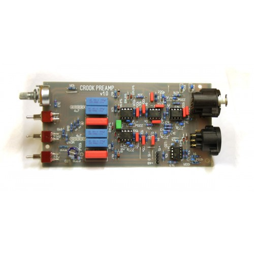 Microphone Tube Preamp Schematic