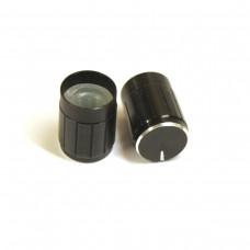 Aluminium Knob 13x17mm