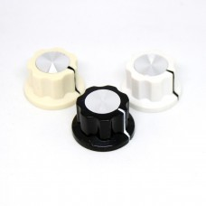 Knob Boss Style (Color with aluminum inlay) 20mm