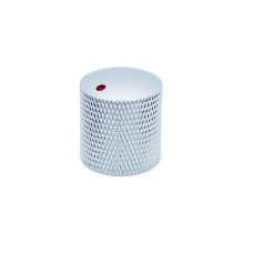"Metal Dotted ""Dome"" Knurled Knob D16mm"