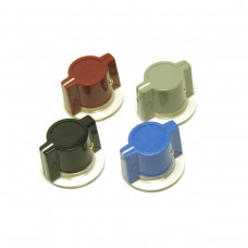 "Neve Marconi style knob with skirt (1/4"" (6.4mm) two set screws)"