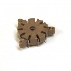 Belton VT9-PT Style Tube Socket (PCB)