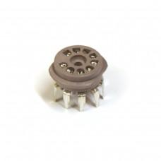 Tube Socket 9 Pin PC Mount Micalex