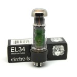 Electro-Harmonix EL34 Matched Quad