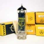 Tesla EZ81, NOS, NIB  (yellow box)