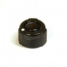 Round Knurled Russian NOS Knob with Pointer 21mm (RU002)